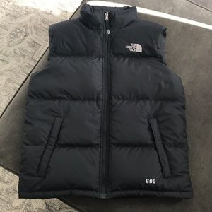 The North Face 600 down Boys puffer vest